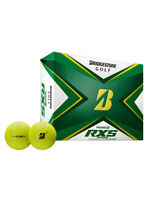 Bridgestone Tour B RXS Golf Balls - 2020 1 Dozen Yellow -  Mens