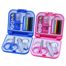Mini Beginner Sewing Kit Case Set Adults Kids Home Travel Campers Supplies 40g