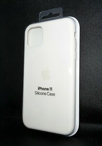 New 100% Genuine Official Apple iPhone 11 Silicone Case Soft White MWVX2ZM/A