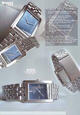 Classic & Sporty Unisex Osco Watch in Blue Number Unworn