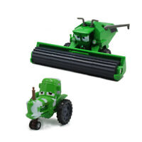 Cars Toys Green Frank & Tractor Diecast Toy Car 1:55 Loose Kid Vehicle Harvester