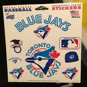 Toronto Blue Jays. Mello Smello Sticker set. New in shrink.