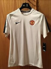 NIKE EPL Manchester United MFC Showtime Top White 413472-105 U.S Mens SMALL $50