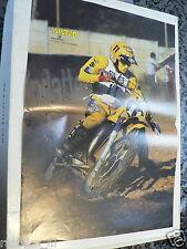 A099-POSTER HARRY EVERS SUZUKI NO 11 MX GRANDPRIX MOTOCROSS 1980/81 POSTER
