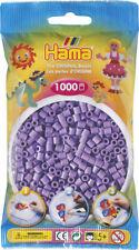 Hama 1000 Midi Bügelperlen 207-45 Pastell-Lila Ø 5 mm Perlen Steckperlen Beads