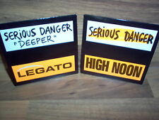 "Lot de 2 CD Single / Serious Danger "" Deeper"" - Legato - High Noon / Rare"