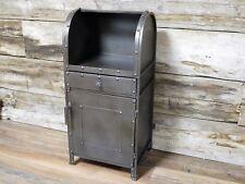 Metal Storage Cabinet Industrial Living Room Cupboard Display Unit Furniture New