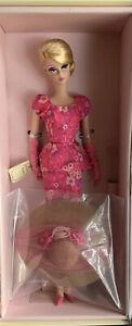 Fashionably Floral Silkstone Barbie Doll NRFB 2014 Gold Label #CGK91