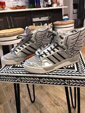 Adidas Jeremy Scott JS Wings 2.0 Men's Size 9 NASA Silver RARE!