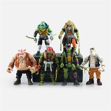 TMNT TURTLES Teenage Mutant Ninja Turtles 16cm PVC Figur Figuren 6pcs Set IB