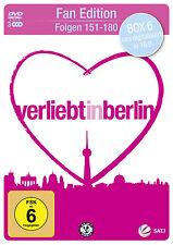 &B 3 DVDs * VERLIEBT IN BERLIN - BOX 6 - FOLGEN 151 - 180 FAN EDITION  # NEU OVP