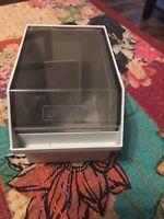 """BIZMART Vintage Disk Case Container Holder Storage 3.5"""" Floppy Disk - Ships Free"""