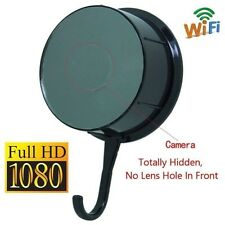 Wireless WiFi 1080P Full HD Secret Camera Motion DVR Video Spy Clothes Hook Cam