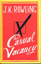 The Casual Vacancy by J. K. Rowling-First Edition/DJ-2012