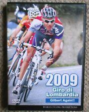2009 Giro di Lombardia World Cycling Productions DVD Philippe Gilbert Very Clean