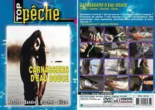 DVD Carnassiers d'eau douce : Perche, sandre, brochet, silure  Pêche carnassiers