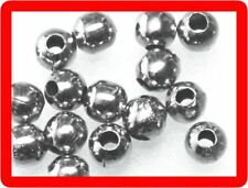 500 metal beads spacer round ball lot 2mm silver tone