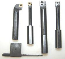 Juego de 4 barras aburrido Glanze axial & radial para Fresadora 1/2 Shank Desde Chronos