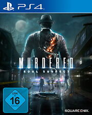 Murdered: Soul Suspect (Sony PlayStation 4, 2014, DVD-Box)
