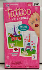 Ooh La La 32 Valentines Valentine's Day Cards With 32 Tattoos And Seals