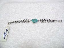Lucky Brand Silver Turq Stone Bracelet