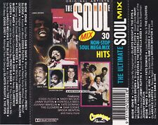 THE ULTIMATE SOUL MIX Various 2 Cassettes - Tapes   SirH70
