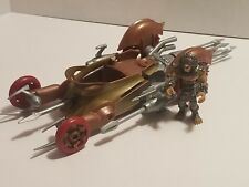Hot wheels Battle Force 5 Fangore And Kalus Vechile And Figure Set 2009