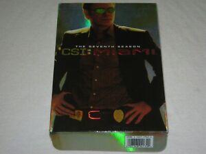CSI Miami - Season 7 - Box Set - VGC - Region 1 - DVD
