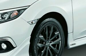 JDM White clear side markers lamp Turn light pair 2016-20 Civic X Genuine Honda