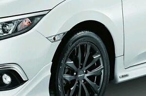 JDM White clear side markers lamp Turn light pair 2016-21 Civic X Genuine Honda