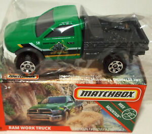 Brand New Matchbox Die Cast Dodge Ram Work Truck In BOX