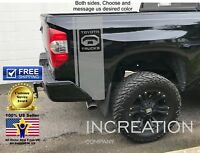 Truck stripes For Toyota Tacoma Tundra TRD Decal Vinyl Sticker off 4x4 graphics