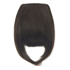 Women Clip In Synthetic Straight Bang Clip In Hair Extension Any Color Hairpiece