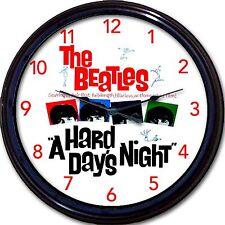 The Beatles Hard Day's Night Movie Wall Clock McCartney Lennon Ringo Harrison