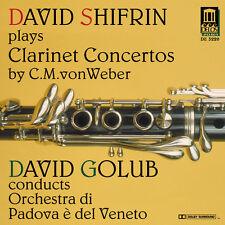David Shifrin - Weber Clarinet Concertos [New CD]