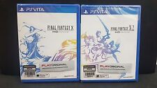 (ASIA ENGLISH VERSION) PSV PS Vita Final Fantasy X & X-2 HD Remaster (BUNDLE BN)