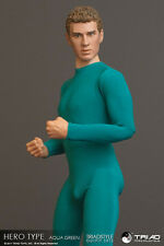 Triad Toys Hero Type AQUA GREEN Male Outfit Set 1/6th Sixth Scale