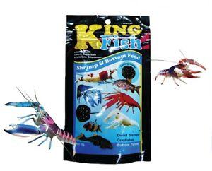 King Fish Crayfishes Tropical Dwarf Shrimp Bottom Food Flake Fishes Aquarium 60g