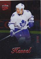 13-14 Fleer Showcase Phil Kessel /99 Red Medallion Maple Leafs 2013