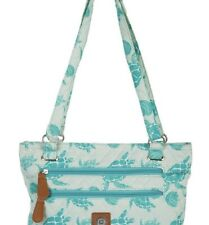 Sea Foam Turtle Handbag