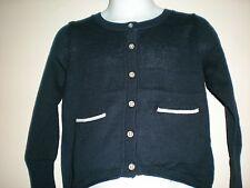 Girl Oshkosh Button-Front Navy Long Sleeve Cardigan Size 3T NWT
