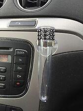 Auto voiture vase avec ventouse, noir bling, tige en plastique conique vase, vw vase style