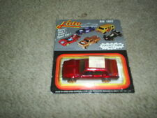 Old Vintage Diecast Lido Toy Car In Original Package Hong Kong GRAY DRUG Label