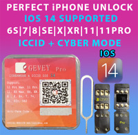 NEW Gevey Pro ICCID+MNC MODE UNLOCK SIM CARD FOR ALL IPHONES & CARRIERS IOS 14