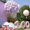 "100Pcs 10"" 12"" Macaron Candy Pastel Latex Balloon Wedding Party Decor Birthday"