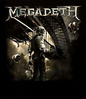 MEGADETH cd cvr DYSTOPIA ALBUM Official SHIRT Size XL new
