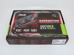 ASUS Expedition GeForce GTX 1050 Ti - listing 'A'