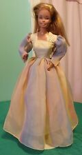 "Yellow & Pastels Fluffy Gown for 18"" Supersize Barbie or Tiffany Taylor SSY115"