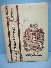 1947 Oak, Lily And Ivy, Milford High School, Milford, Massachusetts Yearbook