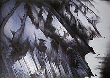 """Eyvind Earle     """"Cliffs of Darkness""""    MAKE  OFFER    DSS"""